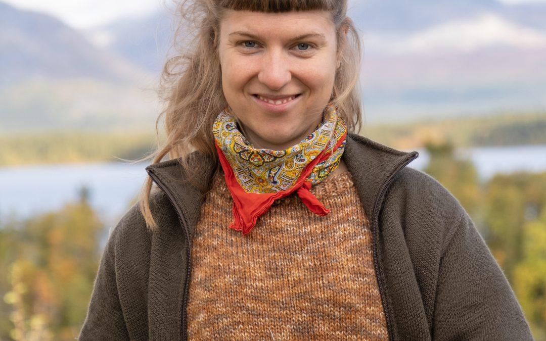 Presenterar stolt, Sofie Karlsson